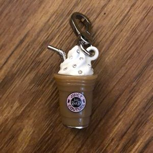 Juicy Couture frappe charm